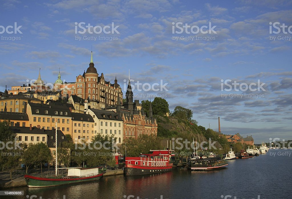 View of Stockholm royalty-free stock photo