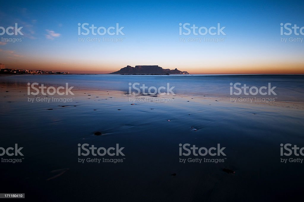 View of table Mountain royalty-free stock photo