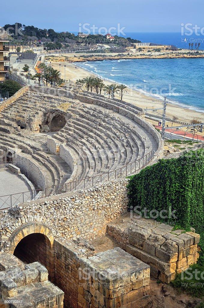 View of Tarragona stock photo
