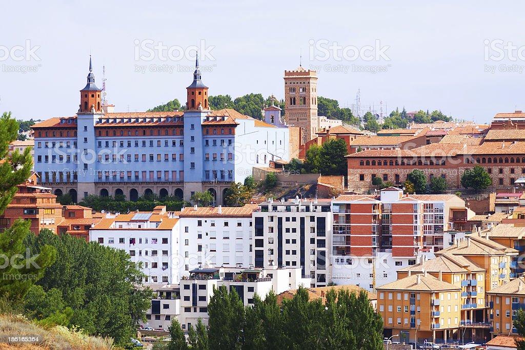 view of Teruel.  Spain stock photo