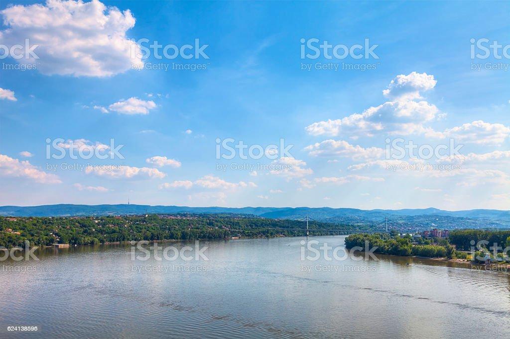 view of the bridge stock photo