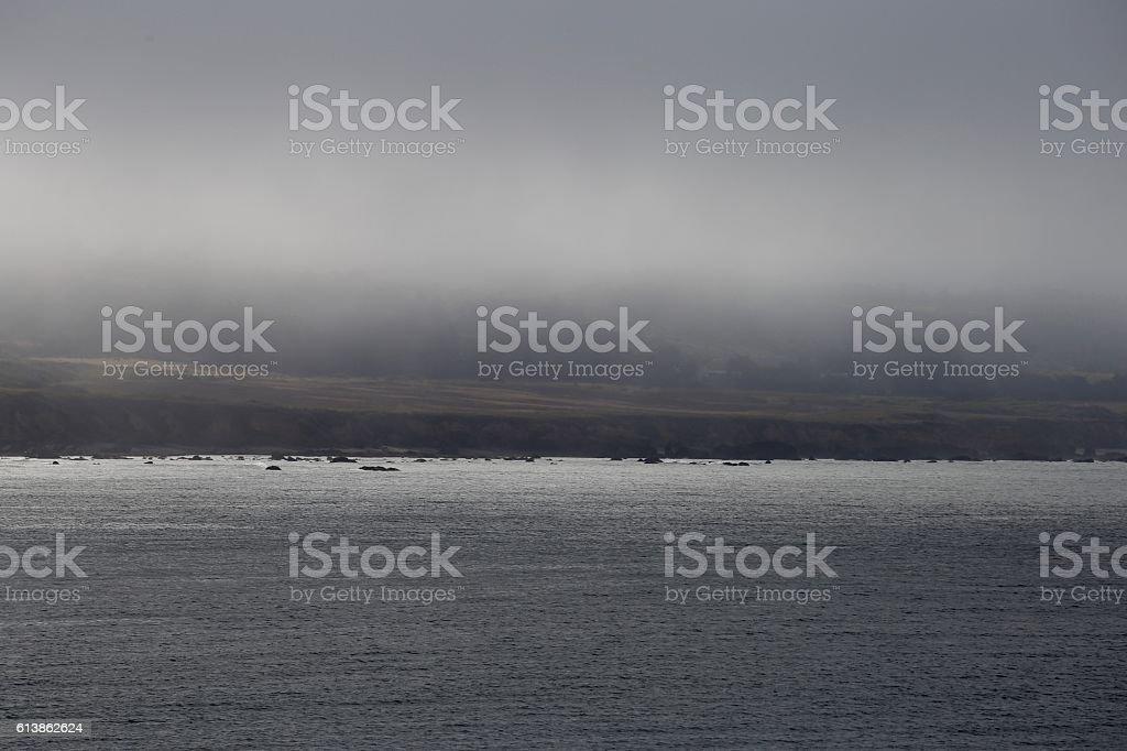 View of the California Coast stock photo