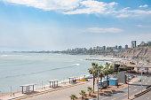 View Of The Coast In Lima, Peru