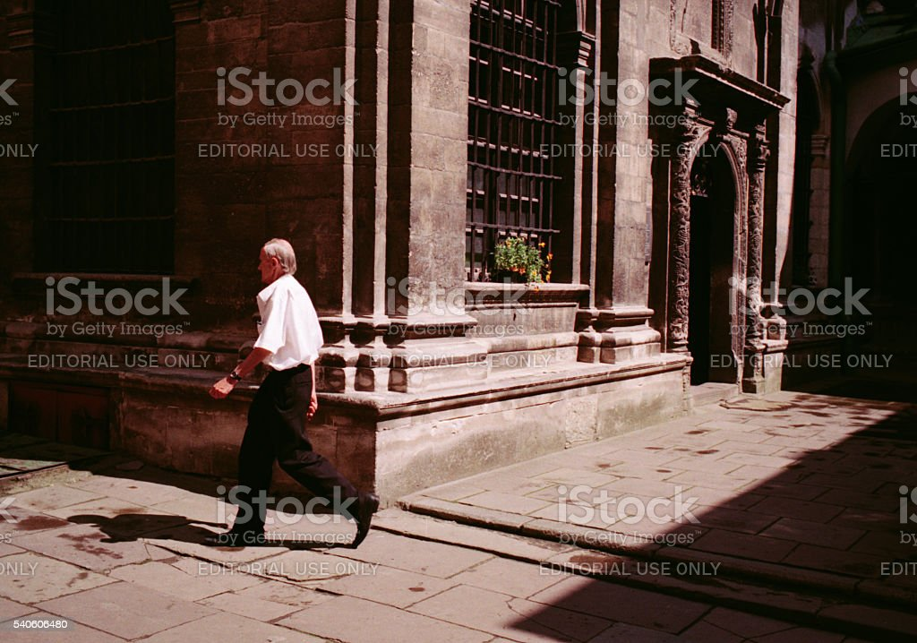 View of the Dormition Church. Lviv stock photo