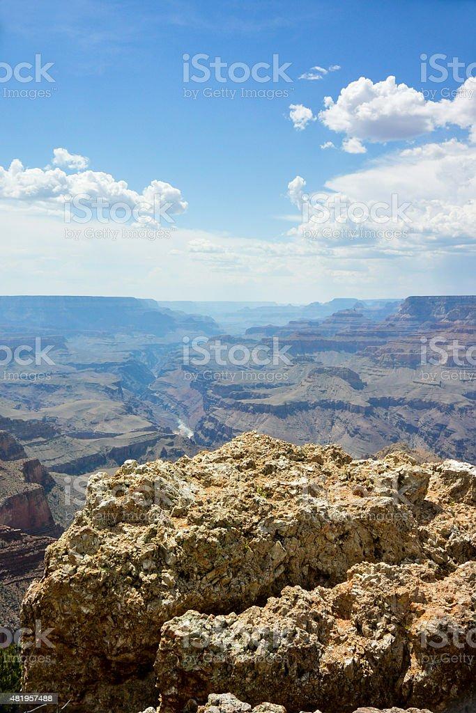 Vista del grand canyon foto stock royalty-free