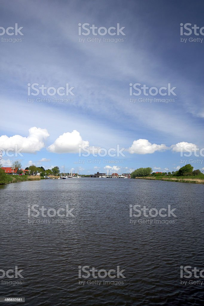 view of the harle stock photo