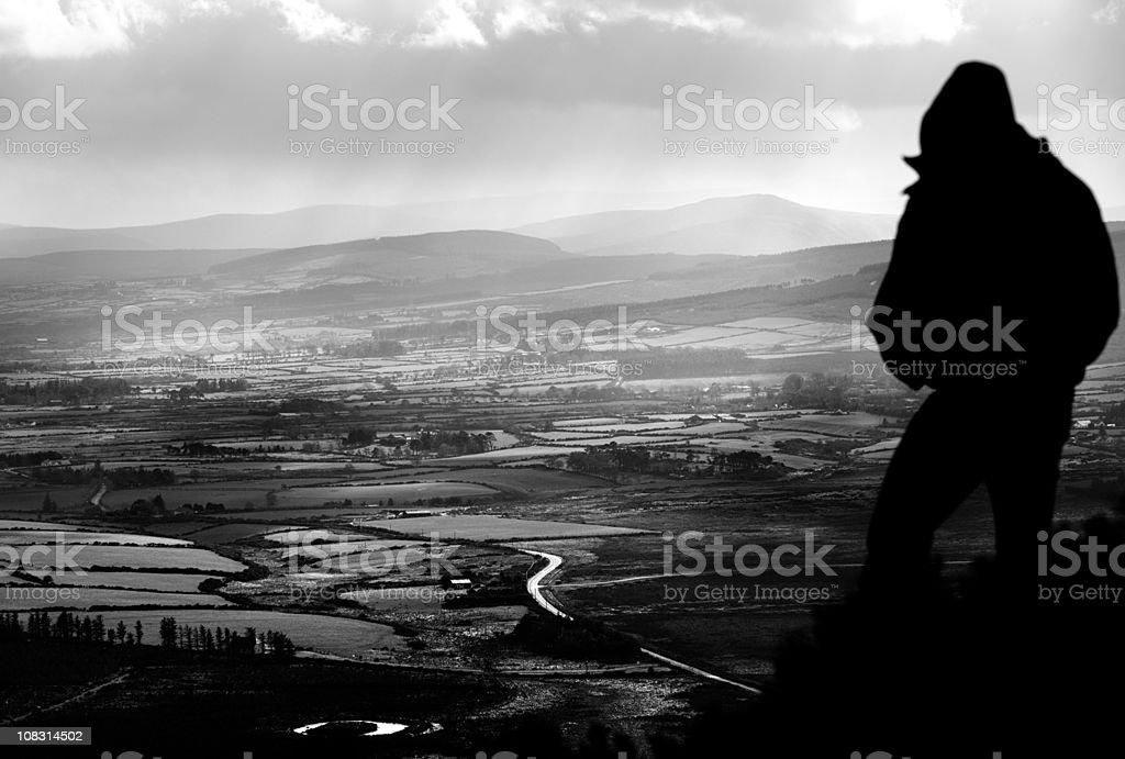 View of the Irish Countryside stock photo