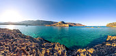 View of the island of Spinalonga