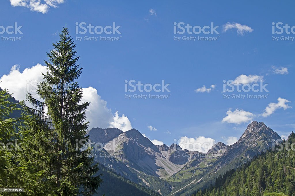 View of the  Liegfeist group stock photo