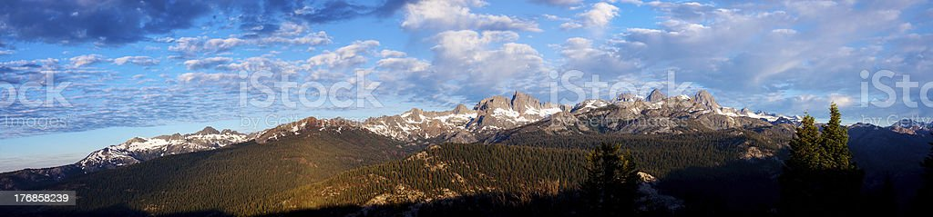 View of the Minarets royalty-free stock photo