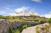 View of the Ostuni, Italy