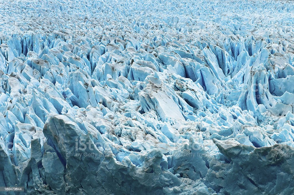 View of the Perito Moreno Glacier. Patagonia (Argentina) royalty-free stock photo