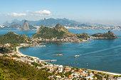 View of the Rio de Janeiro mountains