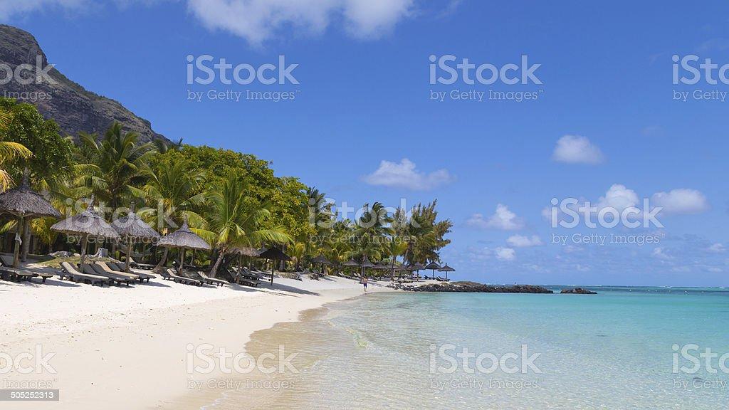 view of the sea beach stock photo