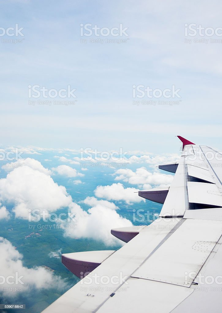 View of the sky . stock photo