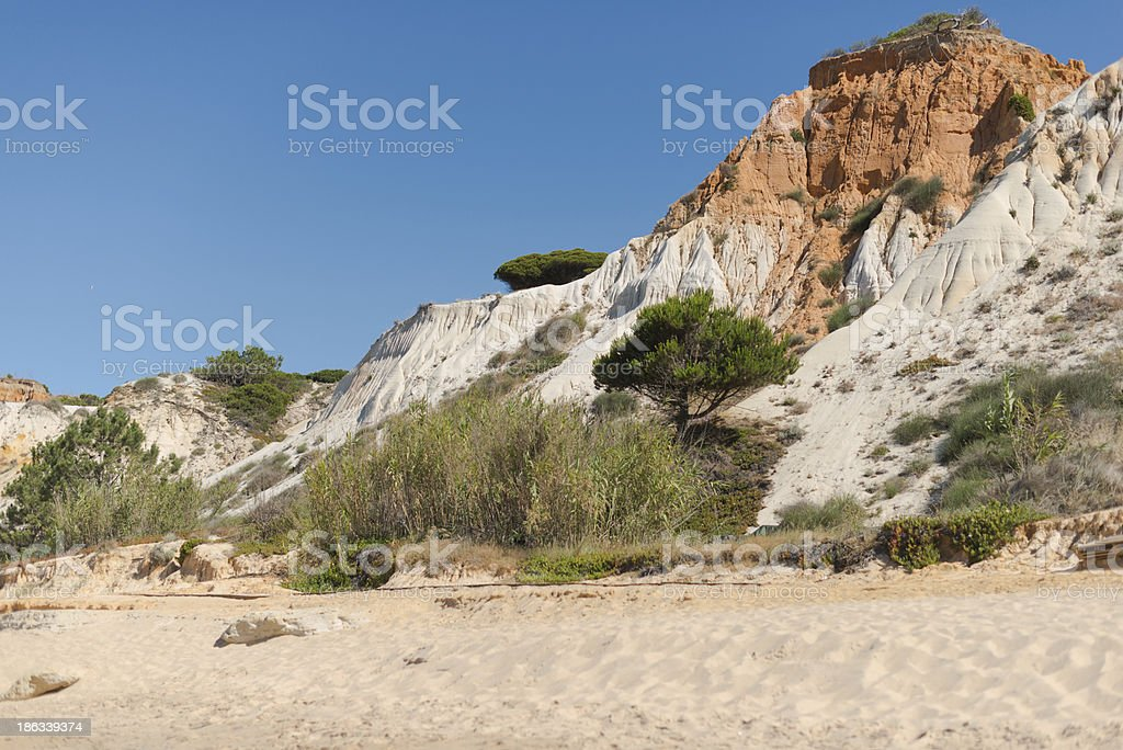 view of the steep bank royalty-free stock photo