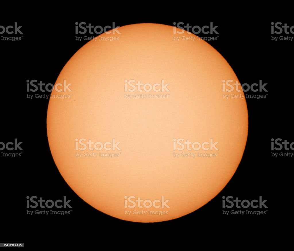 View of the Sun. stock photo