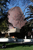 View of the USACH Planetarium on Campus at Santiago University