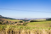 View of the Valley of a Thousand hills near Durban