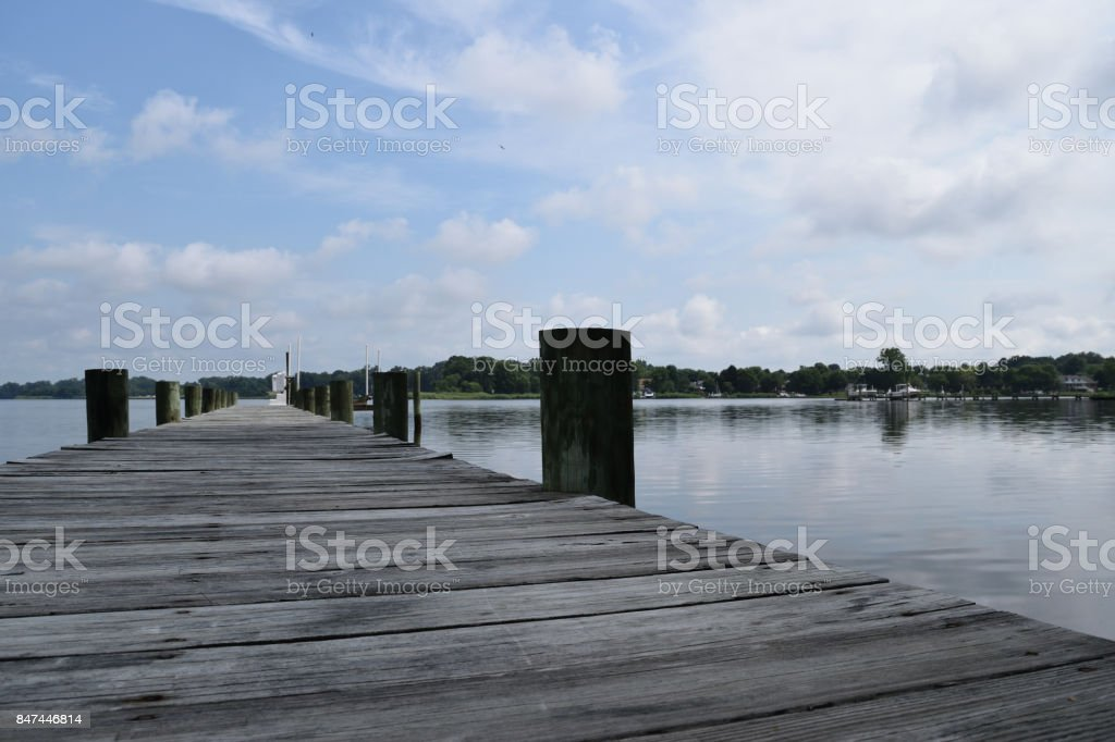 view of the water stock photo
