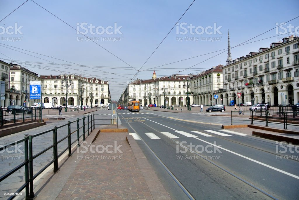 view of Turin stock photo