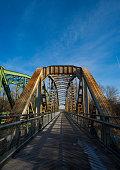 View of two bridge