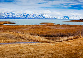 View of Utah Lake and the Wasatch Mountains