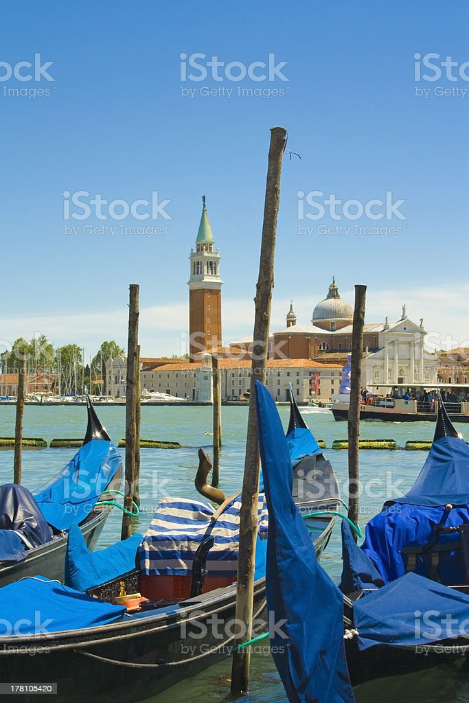 View of Venice - italy stock photo