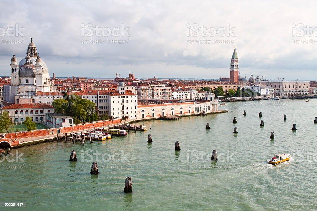 view of Venice Italy royalty-free stock photo