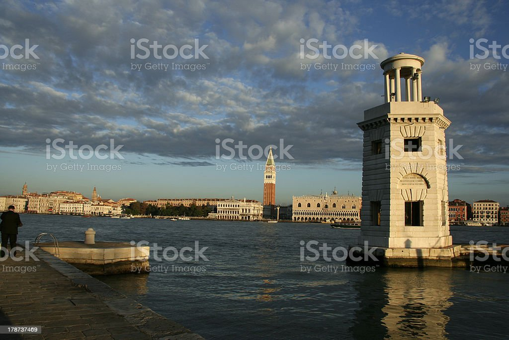 view of Venice royalty-free stock photo