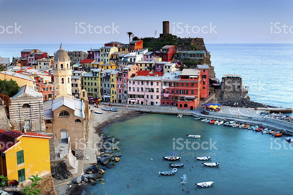 View of Vernazza royalty-free stock photo