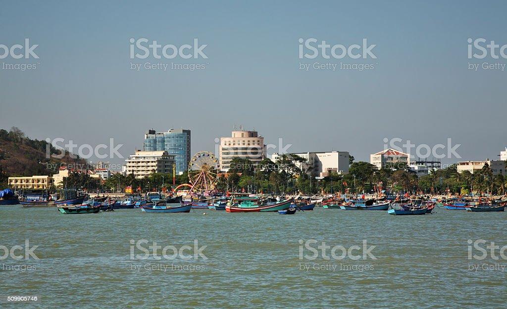 View of Vung Tau. Vietnam stock photo