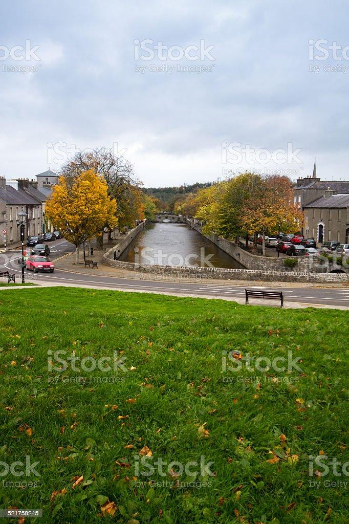 View of Westport, Ireland stock photo
