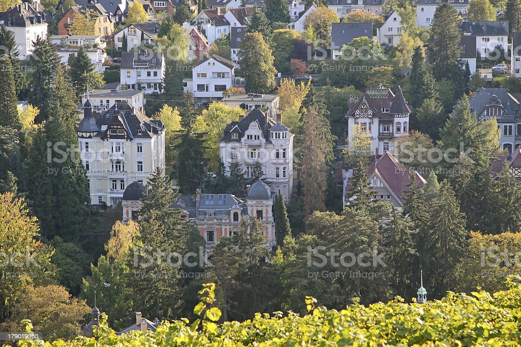 View of Wiesbaden royalty-free stock photo