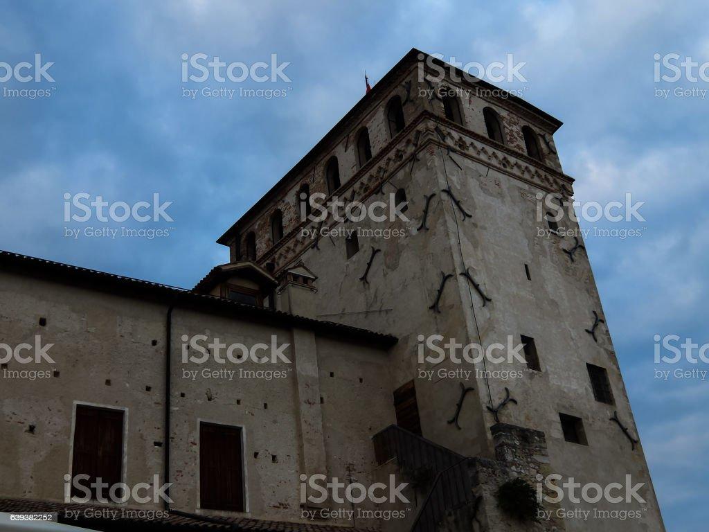 View on Asolo stock photo
