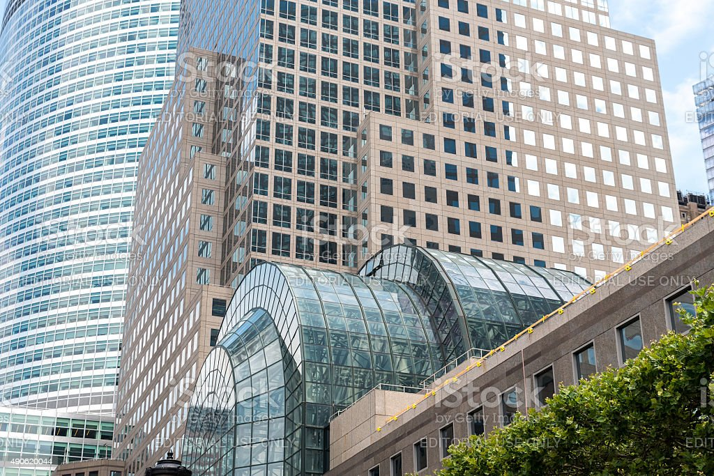 View on Brookfield Place stock photo