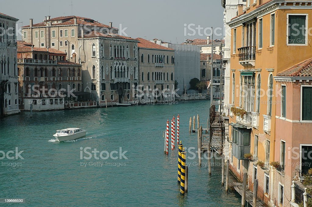 View on Canale Grande royalty-free stock photo
