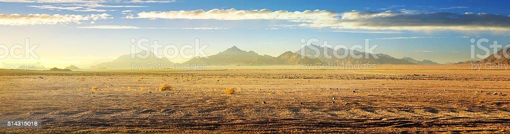 View on desert stock photo