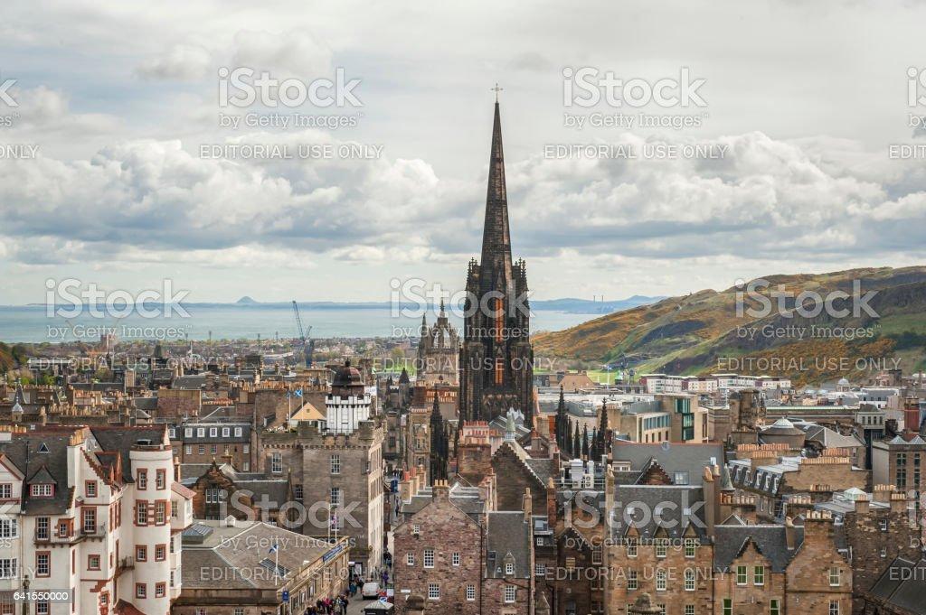 View on Edinburgh - Scotland stock photo
