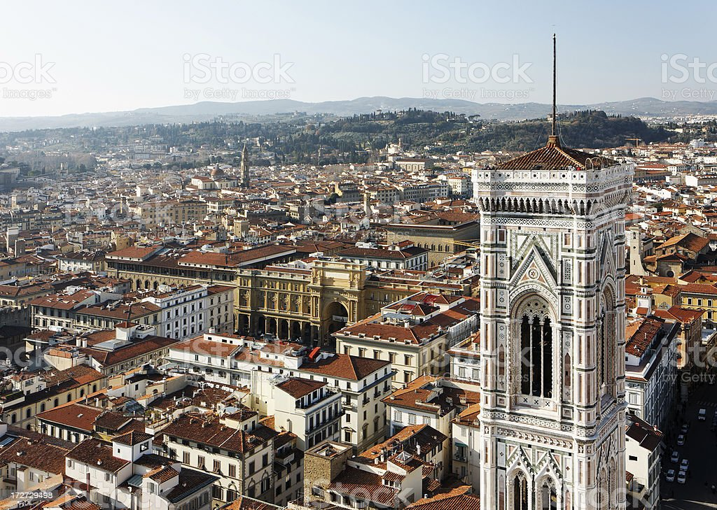 View on Florence stock photo
