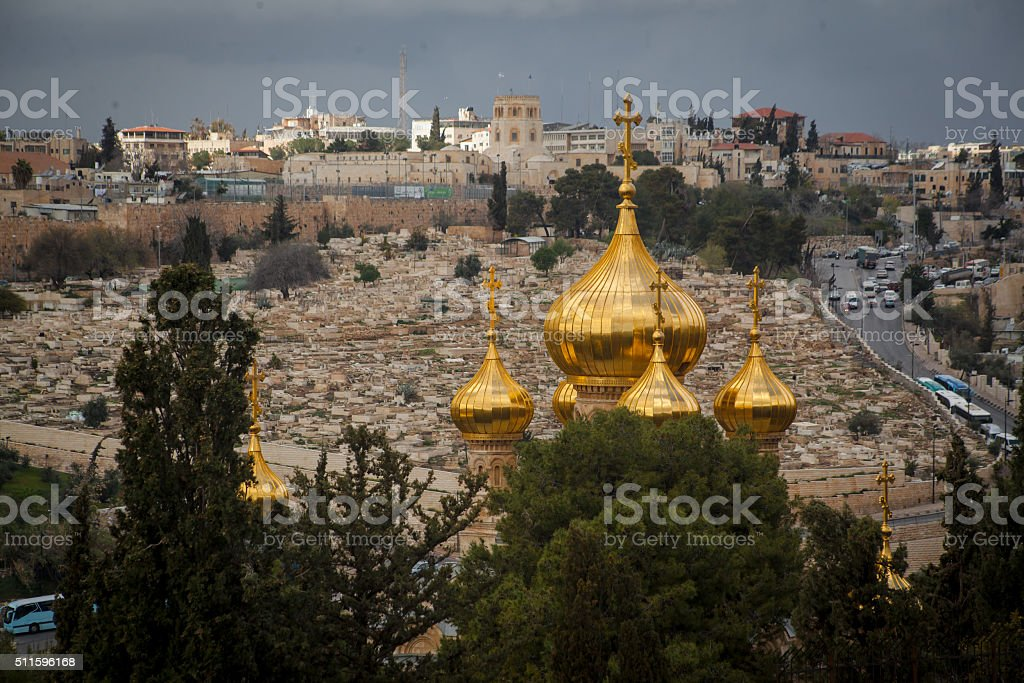 View on Mary Magdalene stock photo