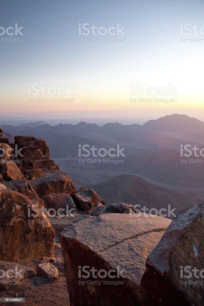 view on mountain moses landscape stock photo