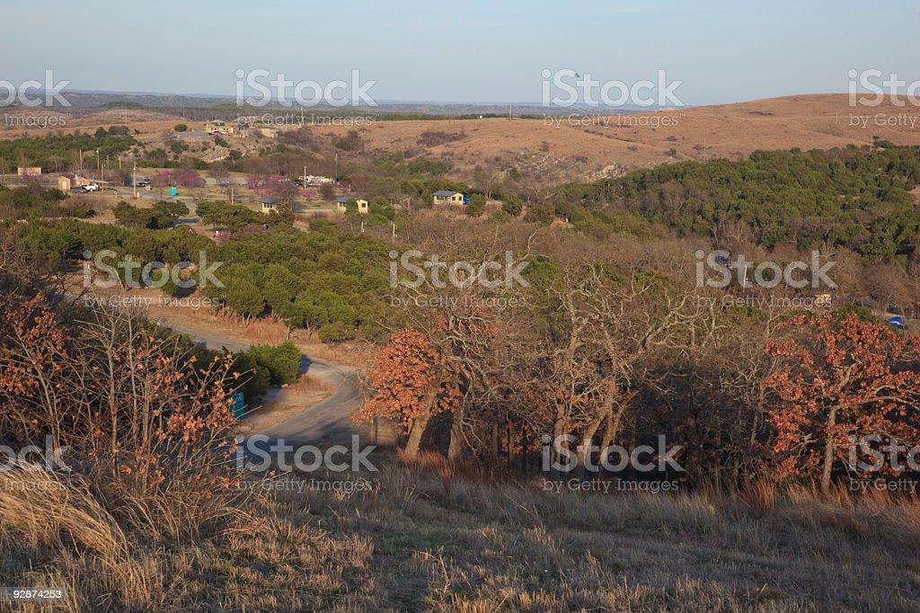 view on mountain royalty-free stock photo