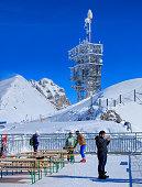 View on Mt. Titlis in Switzerland