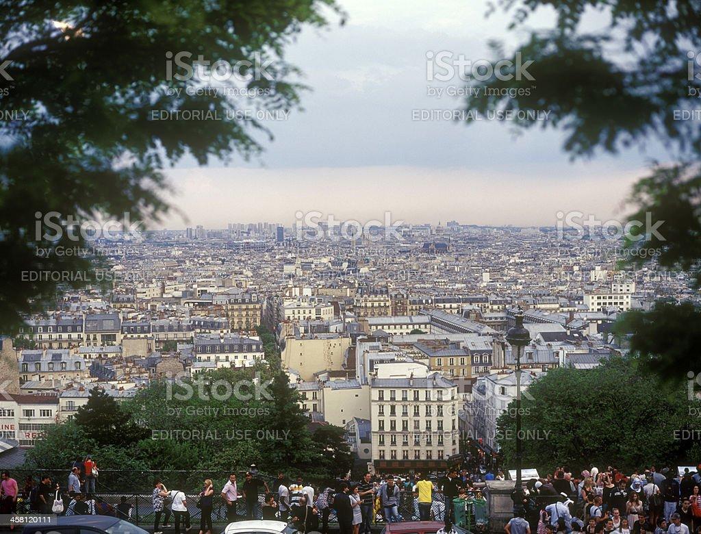 View on Paris. royalty-free stock photo