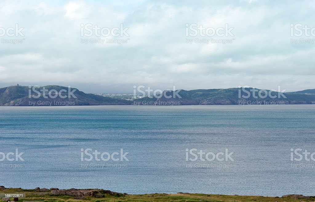 View on St John's ,Newfoundland, Canada stock photo