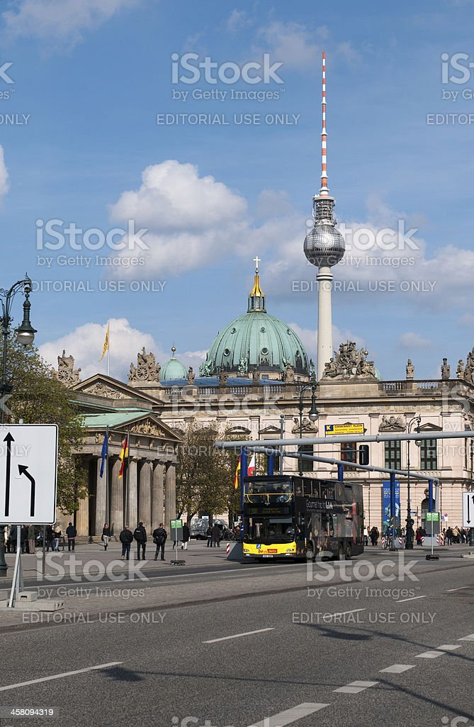 View on Zeughaus (old Arsenal) stock photo