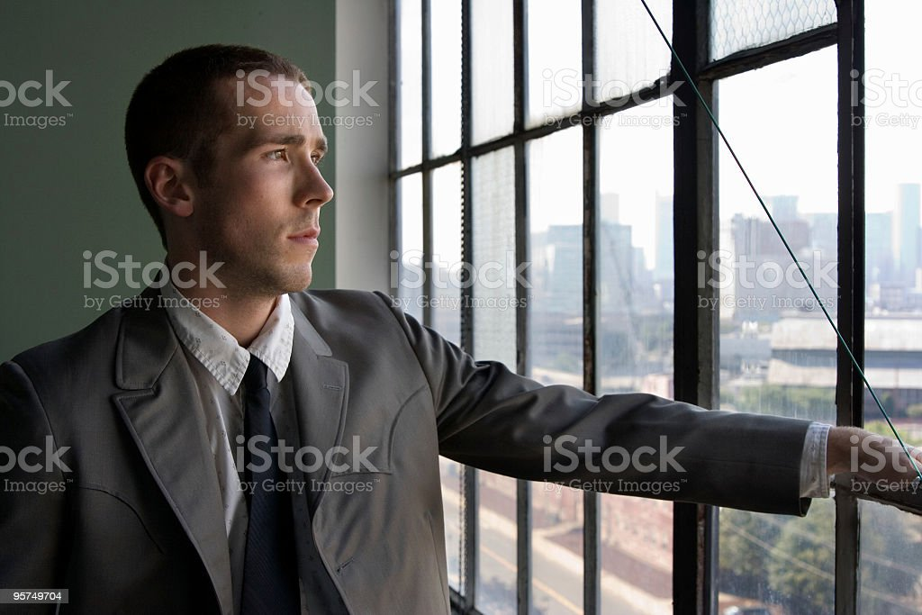 View out the window royalty-free stock photo
