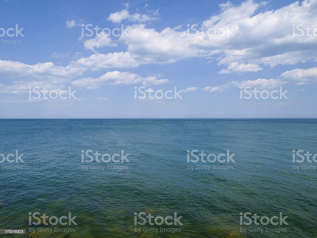 View Out to Sea stock photo