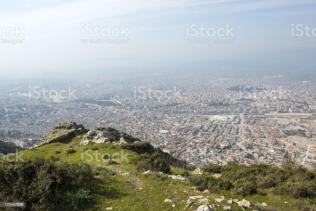 View over Antakya (Antioch), Turkey stock photo